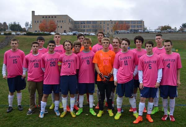 2014 Varsity Pink team