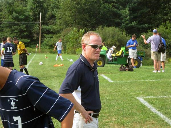 Charlie Griffiths STA Assistant Boys Soccer Coach