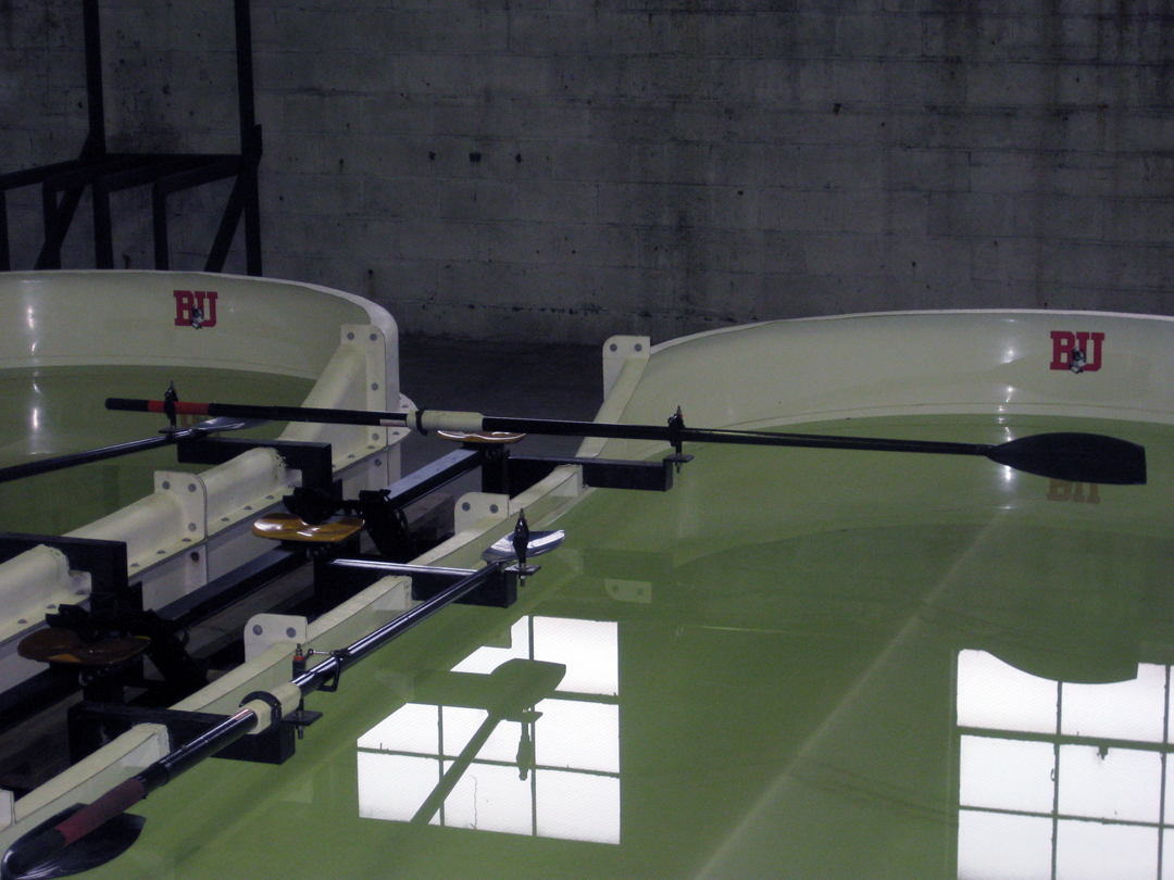 BU Rowing/Crew practice tanks