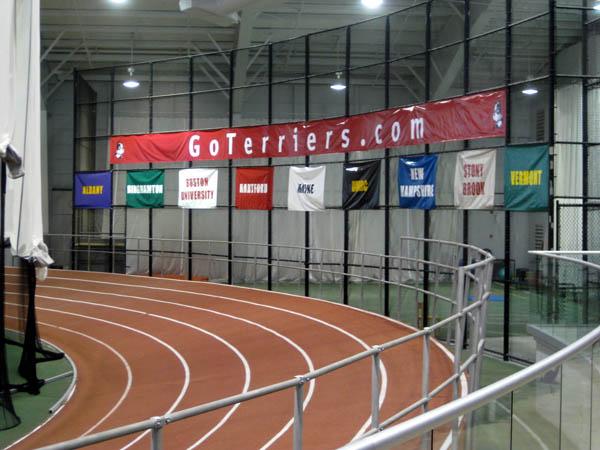 BU indoor track goterriers banner