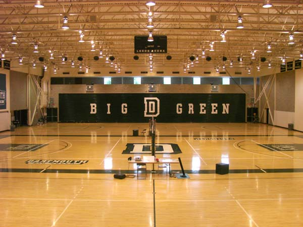 Dartmouth College Leede Arena Big Green Bleachers