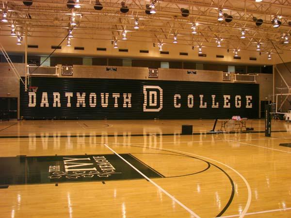 Dartmouth College Leede Arena bleachers