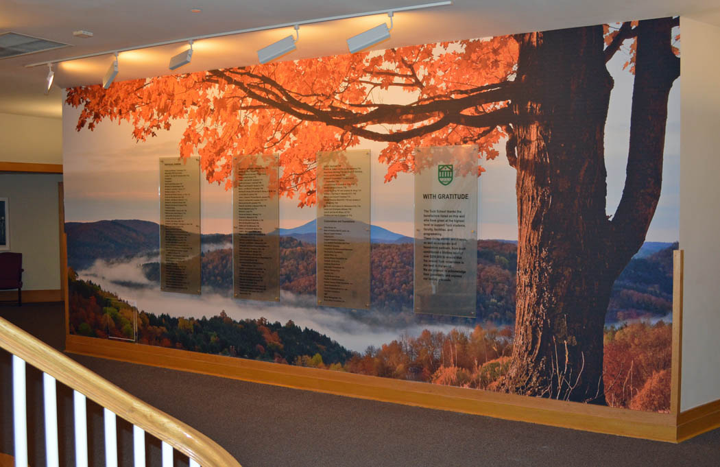 Dartmouth College Donor Wall Mural