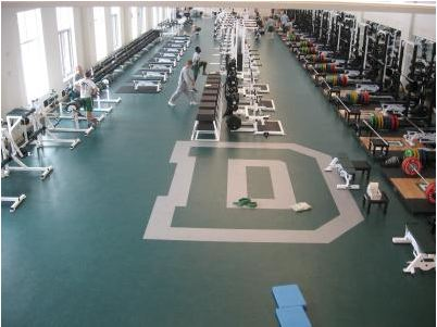 Dartmouth College Weight Room