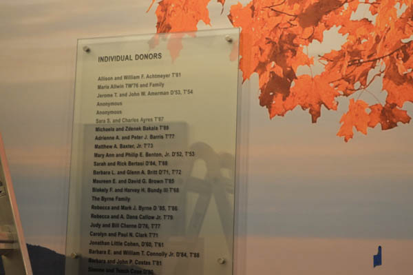 Dartmouth College Donor Wall Project