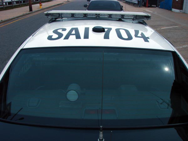 Salisbury, MA Police car