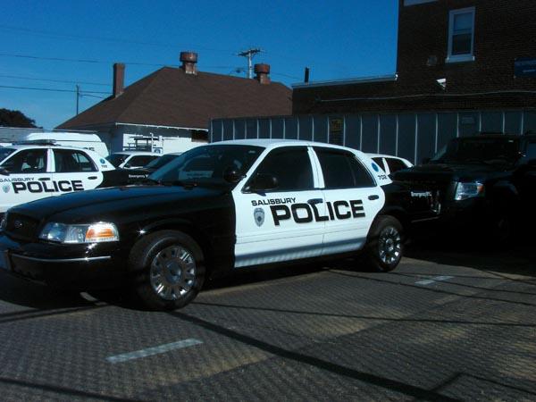 Salisbury, MA Police cruiser