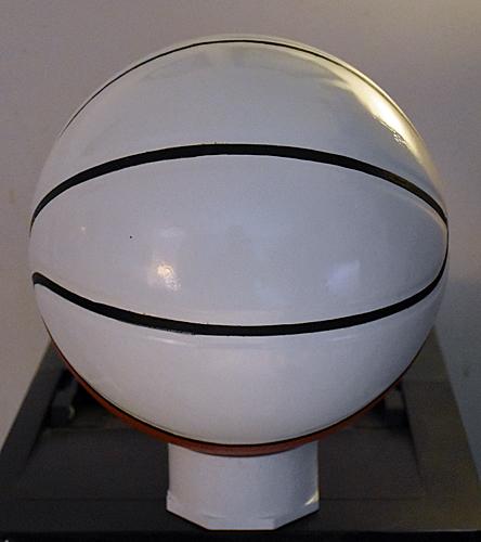 White Autograph Award Basketball