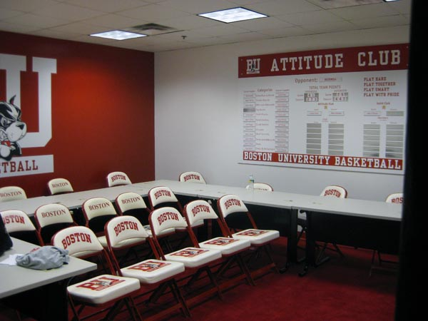 BU Mens Basketball Classroom