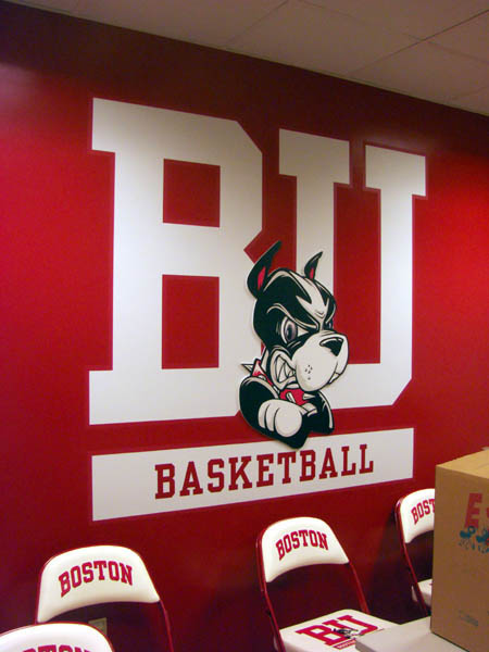 BU Logo with Raised Rhett Head