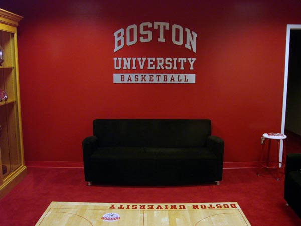 BU Men's Basketball Locker Room