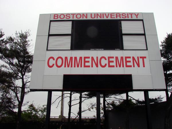 SD&S BU Graduation Socreboard
