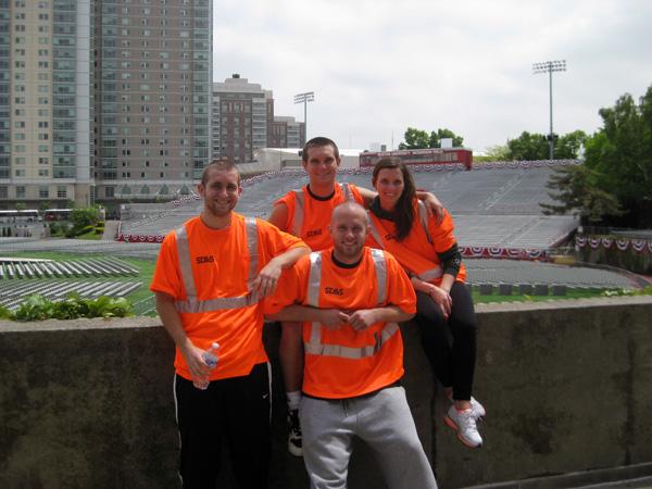 SD&S BU Graduation Install Crew