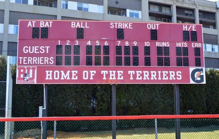 BU Softball Scoreboard Base Panel