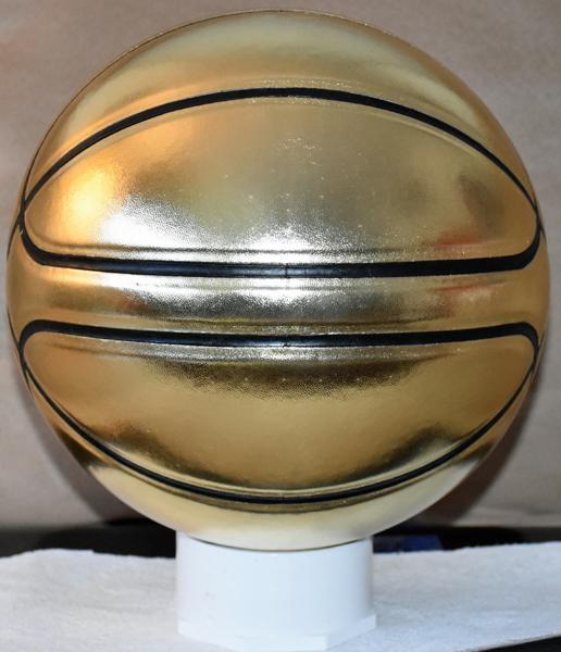 Gold Award Basketball - center line option