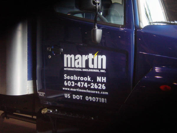 Martin International Truck Graphics