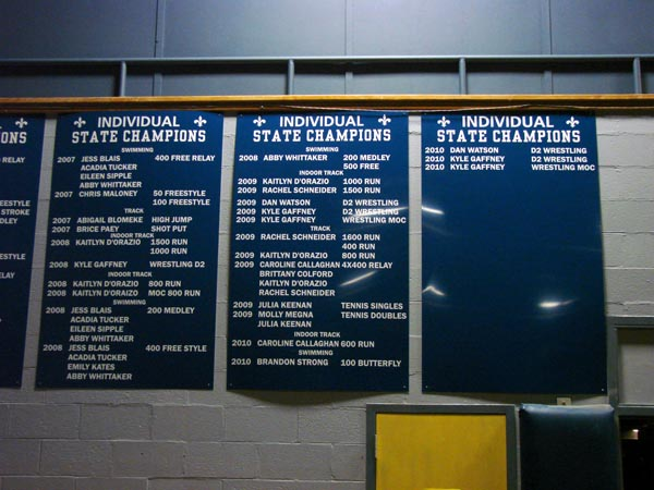 STA individual state champions plaques